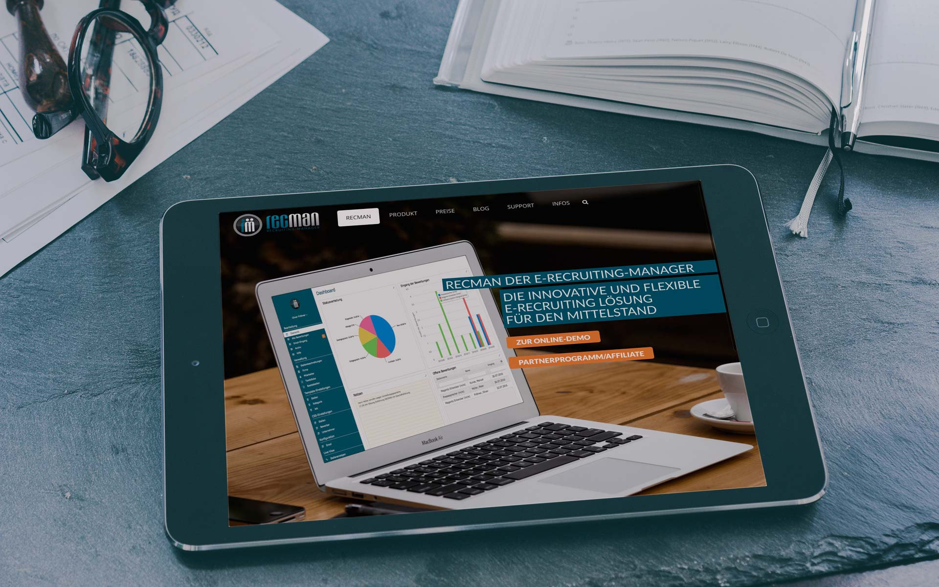 Referenz Webdesign | Recman