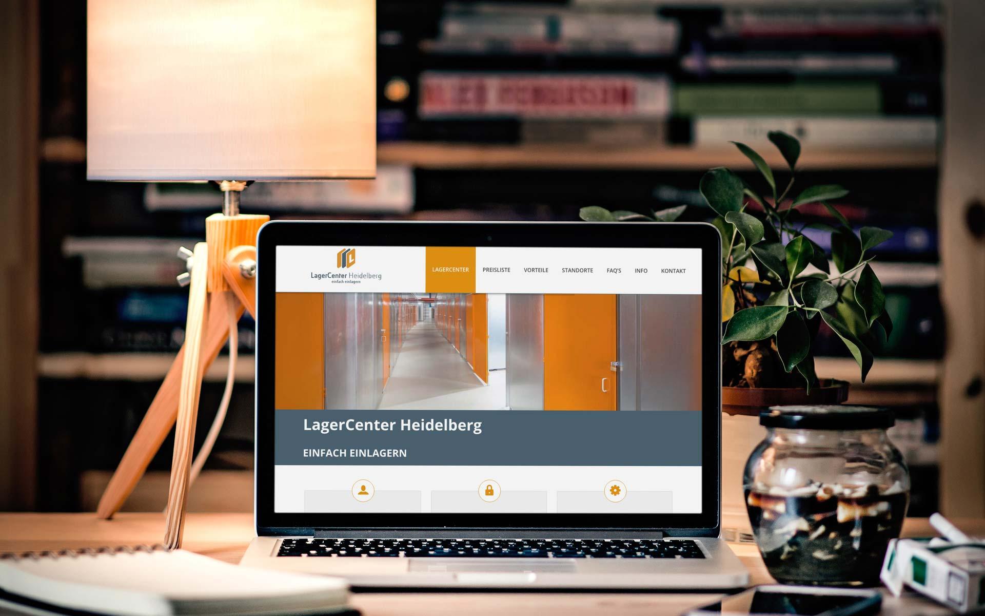 Referenz Webdesign | Lagercenter Heidelberg