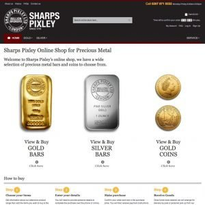 Sharps Pixley | Buy gold online