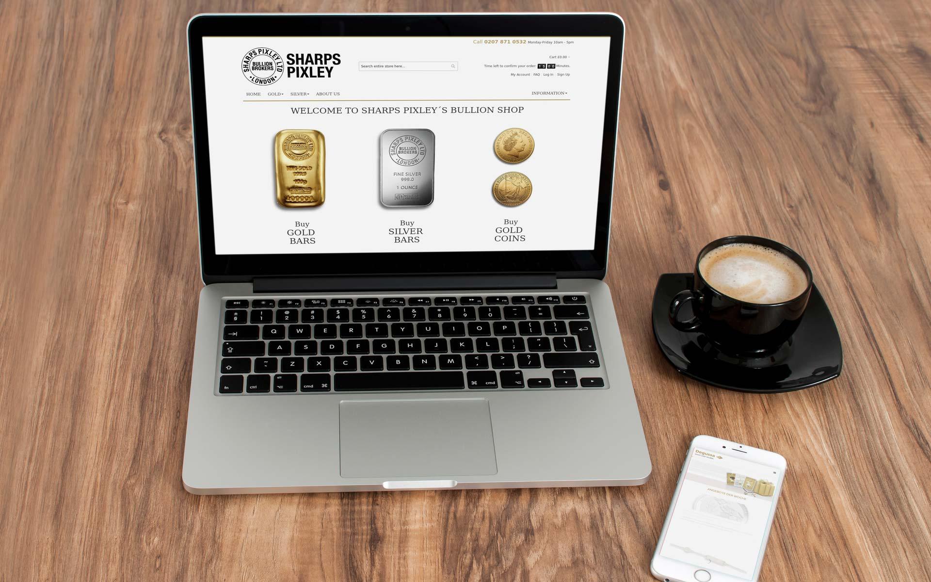 Magento Referenz | Sharps Pixley