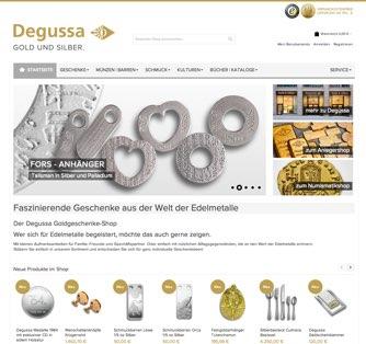 Goldgeschenke bei Degussa Goldhandel - Degussa Goldhandel GmbH