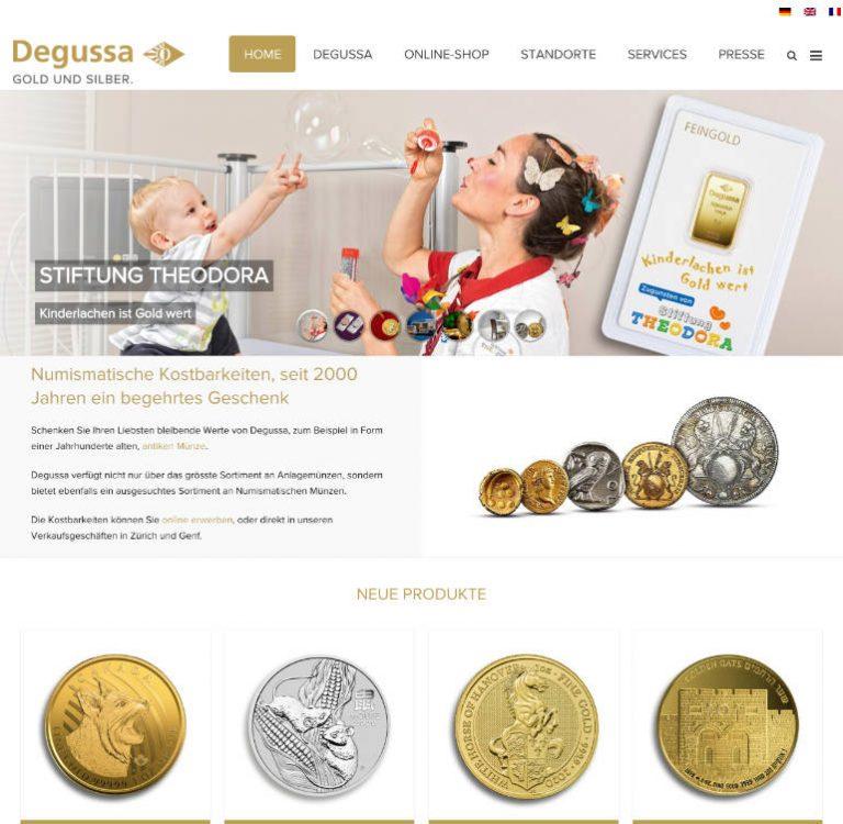 Degussa-Goldhandel