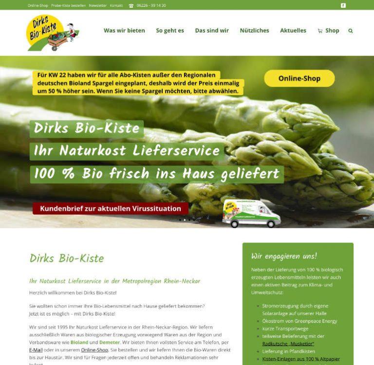 Dirks Bio-Kiste - Bio Naturkost Lieferservice-www.dirksbiokiste.de