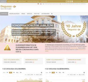 Degussa Goldhandel GmbH - Edelmetallhan- www.degussa-goldhandel