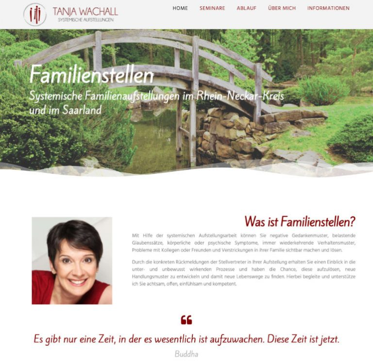 Systemische Familienaufstellungen Tanja Wach www.tanjawachall.de